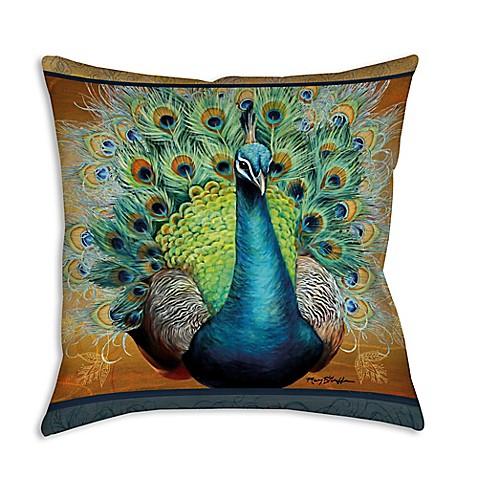 Throw Pillows Peacock : allthingspeacock.com - Peacock Throw Pillows (2)