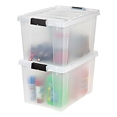 Image Of IRIS® Store It All 18 Gallon Heavy Duty Storage Totes