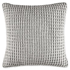 image of Nautica® Fairwater Knit Throw Pillow in Grey
