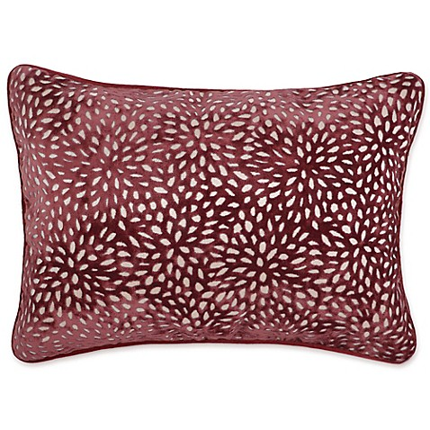 Make Your Own Decorative Pillow Covers : Buy Make-Your-Own-Pillow Karst Oblong Throw Pillow Cover in Red from Bed Bath & Beyond