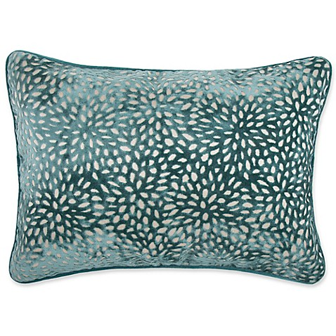 Make Your Own Decorative Pillow Covers : Buy Make-Your-Own-Pillow Karst Oblong Throw Pillow Cover in Teal from Bed Bath & Beyond