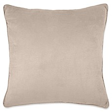 image of Make-Your-Own-Pillow Izmir Suede Throw Pillow Cover