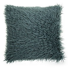 image of Make-Your-Own-Pillow Simon Fur Square Throw Pillow Cover