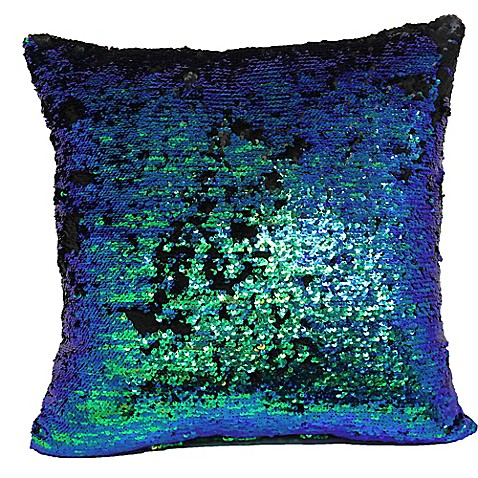 Make Your Own Decorative Pillow Covers : Make-Your-Own-Pillow Mermaid Square Throw Pillow Cover - Bed Bath & Beyond