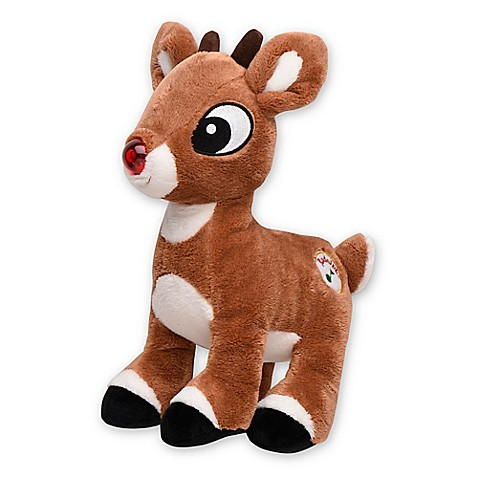 My 1st Rudolph Light Up Musical Plush Toy Buybuy Baby