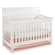 image of Westwood Design Taylor 4-in-1 Convertible Crib in Seashell White