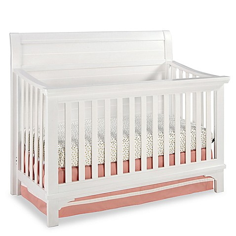 Westwood Design Taylor 4 In 1 Convertible Crib In Seashell