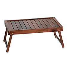 image of Acacia Wood Bed Tray