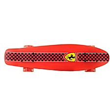 image of Ferrari Penny 22.5-Inch x 6-Inch Skateboard in Red Checkerboard