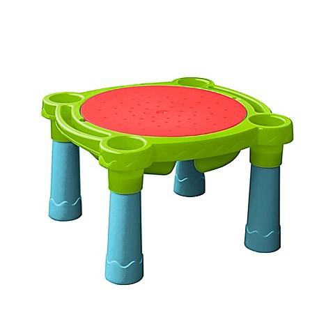 Palplay Sand Amp Water Indoor Outdoor Table In Blue Yellow