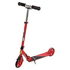 image of Ferrari 2-Wheel Kick Scooter in Red