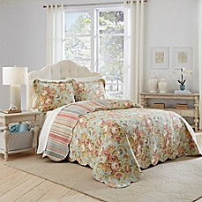 image of waverly spring bling bedspread set - Bedspreads King Size