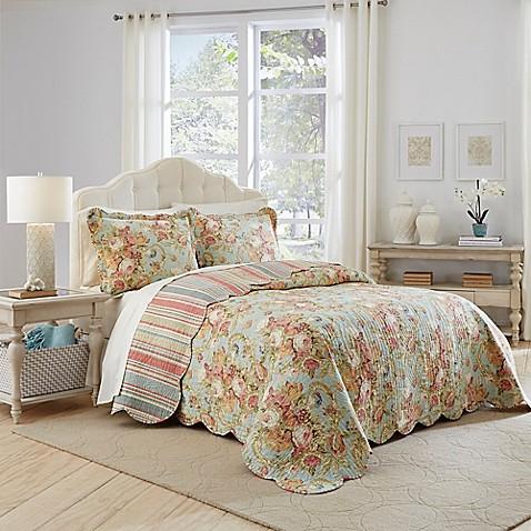 Waverly Spring Bling Bedspread Set Bed Bath Amp Beyond