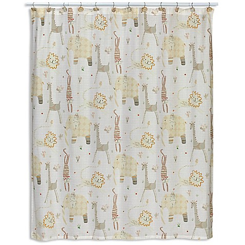 Animal Crackers Shower Curtain