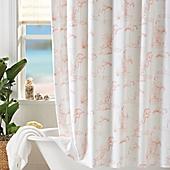 Coastal Living Pink Flamingo Shower Curtain