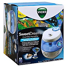 image of Vicks® Sweet Dreams™ Cool Mist Humidifier