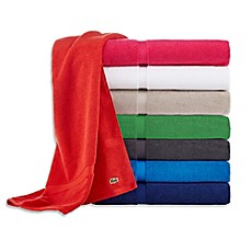 image of Lacoste Court Bath Towel Collection