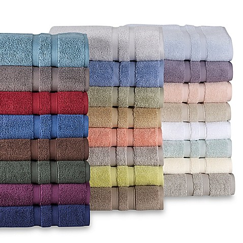 stacks of bath towels