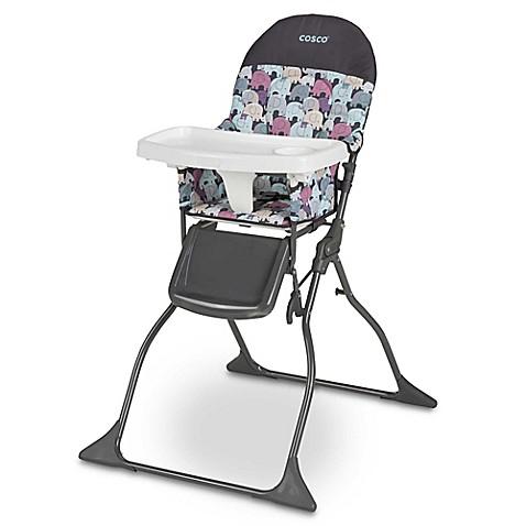 Coscou0026reg; Simple Foldu0026trade; High Chair in Elephant Puzzle  sc 1 st  Bed Bath u0026 Beyond & Cosco® Simple Fold™ High Chair in Elephant Puzzle - Bed Bath u0026 Beyond