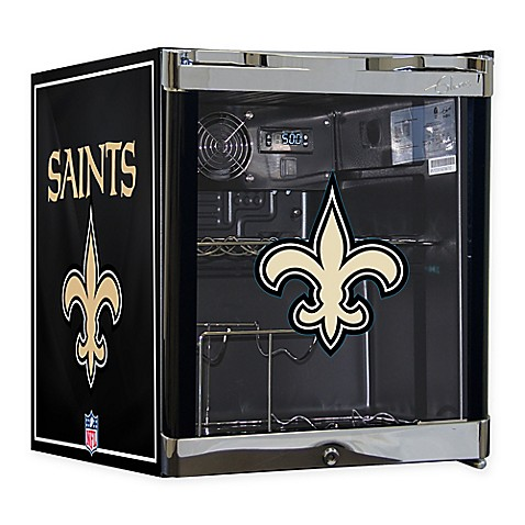 Buy Nfl New Orleans Saints 1 8 Cu Ft Wine Cooler From