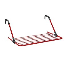image of Brabantia 15-Foot Hanging Drying Rack in Passion Red