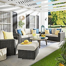image of Verona Home Brescia All-Weather Wicker Furniture Collection