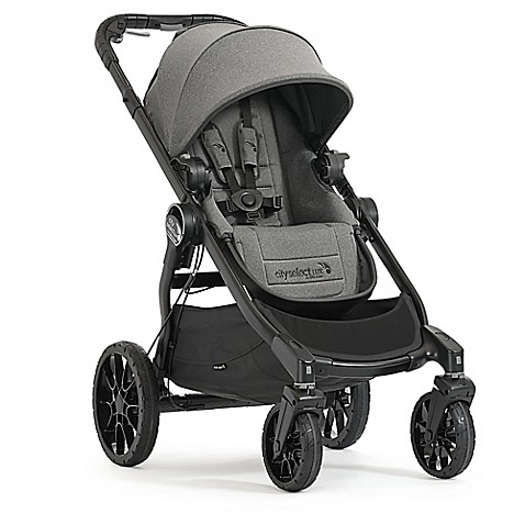 Baby Jogger 174 2017 City Select 174 Lux Stroller In Ash Bed