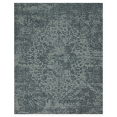 Magnolia Home By Joanna Gaines Lily Park Rug In Teal Bed
