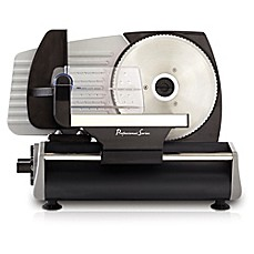image of Continental Electrics Deli Meat Slicer in Stainless Steel/Black