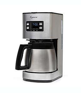 Máquina para hacer café para 10 tazas en acero inoxidable Capresso® en plateado