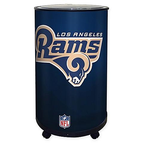 Nfl Los Angeles Rams 18 Qt Ice Barrel Cooler Bed Bath