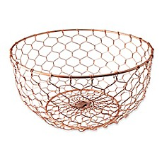 image of Thirstystone® Wire Basket in Copper