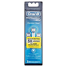 image of Oral-B® Replacement Brush Heads (3-Pack)