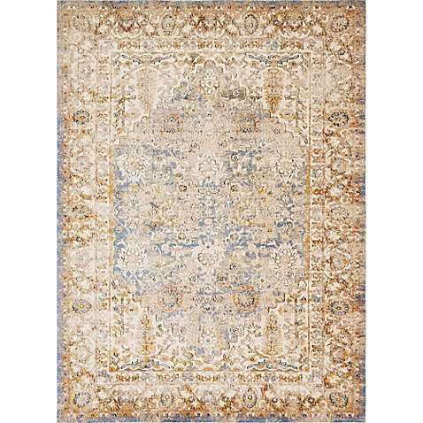 Magnolia Home By Joanna Gaines Trinity Rug In Blue Bed