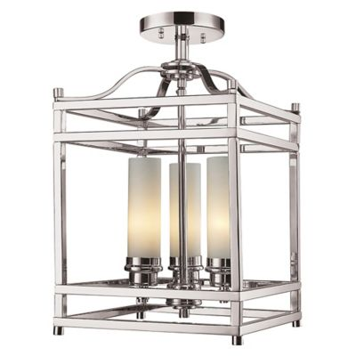 Alta 3 light semi flush mount ceiling light