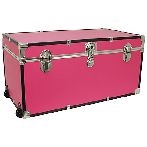 Pink Storage Trunk Bed Bath And Beyond
