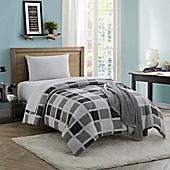 dustin 16piece twintwin xl comforter set in grey - Twin Xl Comforters