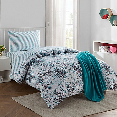 Blissful 16 Piece Twin Twin Xl Comforter Set Bed Bath