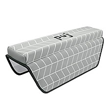 image of Puj® Pad Bath Arm Rest in Herringbone