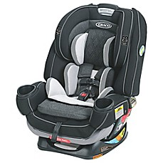 image of Graco® 4Ever™ Extend2Fit™ Platinum All-in-One Convertible Car Seat in Shale