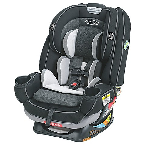 graco 4ever extend2fit platinum all in one convertible car seat in shale bed bath beyond. Black Bedroom Furniture Sets. Home Design Ideas