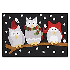 image of Nourison Three Owl 20-Inch x 30-Inch Hooked Accent Rug