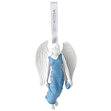 image of Wedgwood® 2017 Figural Angel Christmas Ornament