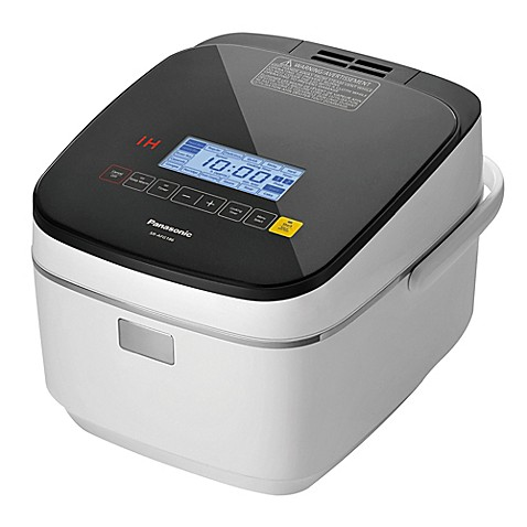 Panasonic 10-Cup Induction Rice Cooker in White - Bed Bath