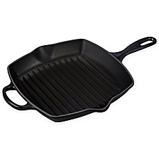 image of Le Creuset® Signature 10.25-Inch Square Skillet Grill