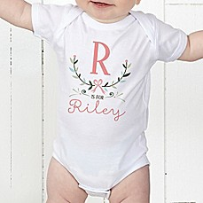 image of Girly Chic Baby Bodysuit