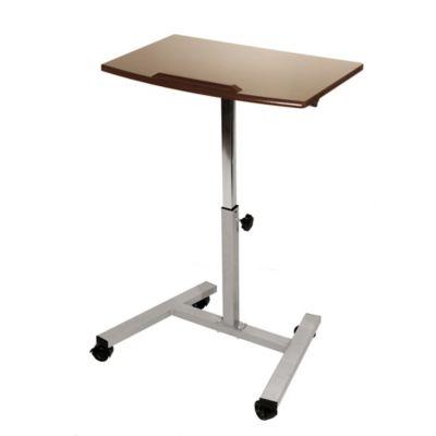 Seville Classics Tilting SitStand Mobile Laptop Desk Cart Bed