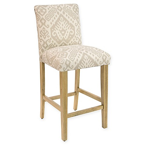 Buy Skyline Furniture Becker Bar Stool In Safi Dove Grey From Bed Bath Beyond