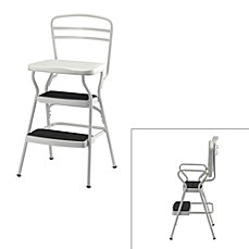 image of Cosco® White Chair/Step Stool  sc 1 st  Bed Bath u0026 Beyond & Ladders u0026 Stepstools - Bed Bath u0026 Beyond islam-shia.org
