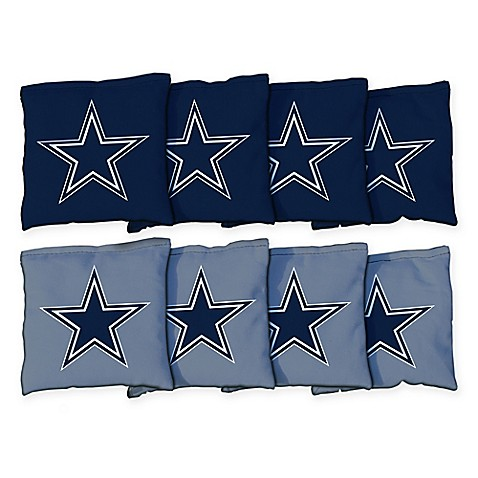 Nfl Dallas Cowboys 16 Oz Duck Cloth Bean Bags Set Of 8